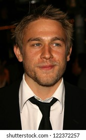 """LOS ANGELES - NOVEMBER 16: Charlie Hunnam at the Los Angeles Premiere of """"Children Of Men"""" at Mann Village Theatre on November 16, 2006 in Westwood, CA."""