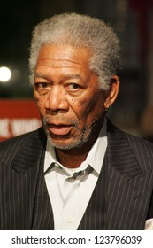 "LOS ANGELES - NOVEMBER 27: Morgan Freeman at the premiere of ""10 Items Or Less"" at Paramount Theater on November 27, 2006 in Los Angeles, CA"