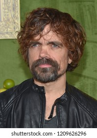 LOS ANGELES - OCT 04:  Peter Dinklage arrives to the HBO's 'My Dinner With Herve' Los Angeles Premiere  on October 4, 2018 in Hollywood, CA