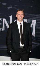 "LOS ANGELES - OCT 1:  Ruben Fleischer at the ""Venom"" Premiere at the Village Theater on October 1, 2018 in Westwood, CA"