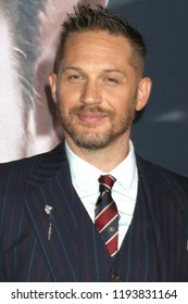 """LOS ANGELES - OCT 1:  Tom Hardy at the """"Venom"""" Premiere at the Village Theater on October 1, 2018 in Westwood, CA"""