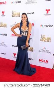 LOS ANGELES - OCT 10:  Angelique Cabral at the 2014 NCLR ALMA Awards at Civic Auditorium on October 10, 2014 in Pasadena, CA