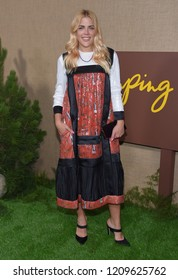 "LOS ANGELES - OCT 10:  Busy Philipps arrives to the HBO  ""Camping"" Los Angeles Premiere  on October 10, 2018 in Hollywood, CA"