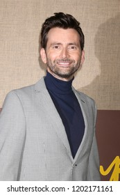 """LOS ANGELES - OCT 10:  David Tennant at the """"Camping"""" HBO Premiere Screening at the Paramount Studios on October 10, 2018 in Los Angeles, CA"""