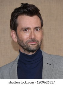 """LOS ANGELES - OCT 10:  David Tennant arrives to the HBO  """"Camping"""" Los Angeles Premiere  on October 10, 2018 in Hollywood, CA"""