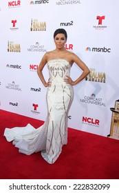 LOS ANGELES - OCT 10:  Eva Longoria at the 2014 NCLR ALMA Awards Arrivals at Civic Auditorium on October 10, 2014 in Pasadena, CA