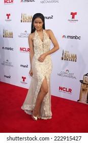 LOS ANGELES - OCT 10:  Massiel Taveras at the ALMA Awards Arrivals 2014 at Civic Auditorium on October 10, 2014 in Pasadena, CA