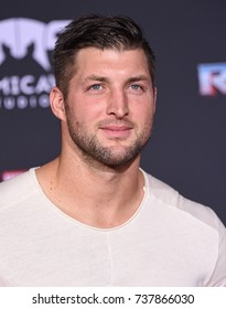 """LOS ANGELES - OCT 10:  Tim Tebow arrives for the """"Thor: Ragnarok"""" World Premiere on October 10, 2017 in Hollywood, CA"""