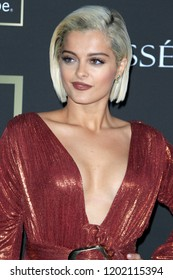 LOS ANGELES - OCT 12:  Bebe Rexha at the City of Hope Gala at the Barker Hanger on October 12, 2018 in Santa Monica, CA
