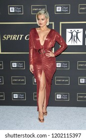 LOS ANGELES - OCT 12:  Bebe Rexha at the City of Hope Gala at the Barker Hanger on October 12, 2018 in Santa Monica, CA