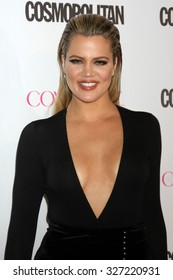 LOS ANGELES - OCT 12:  Khloe Kardashian at the Cosmopolitan Magazine's 50th Anniversary Party at the Ysabel on October 12, 2015 in Los Angeles, CA