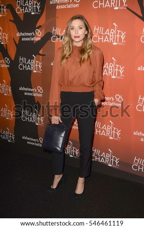 16df3dbcb77 LOS ANGELES - OCT 15: Elizabeth Olsen at the 5th Annual Hilarity for  Charity Variety