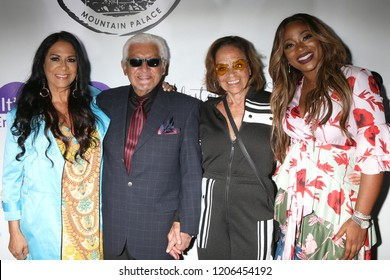 LOS ANGELES - OCT 16:  Sheila E Pete Escovedo, Juanita Escovedo, Breshan Shaw at the Women Empowering Women - The Unstoppable Warrior at the Yamashiro Hollywood on October 16, 2018 in Los Angeles, CA