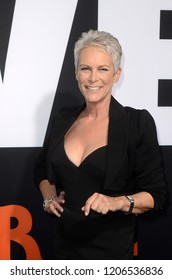 """LOS ANGELES - OCT 17:  Jamie Lee Curtis at the """"Halloween"""" Premiere at the TCL Chinese Theater IMAX on October 17, 2018 in Los Angeles, CA"""