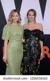 """LOS ANGELES - OCT 17:  Judy Greer, Andi Matichak at the """"Halloween"""" Premiere at the TCL Chinese Theater IMAX on October 17, 2018 in Los Angeles, CA"""