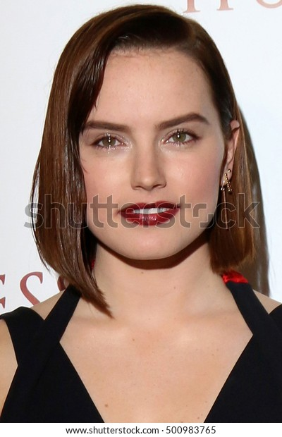 """LOS ANGELES - OCT 18:  Daisy Ridley at the """"The Eagle Huntress"""" Premiere at the Pacific Theatres at The Grove on October 18, 2016 in Los Angeles, CA"""