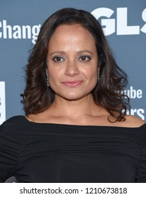 LOS ANGELES - OCT 19:  Judy Reyes arrives for the GLSEN Respect Awards Gala on October 19, 2018 in Beverly Hills, CA
