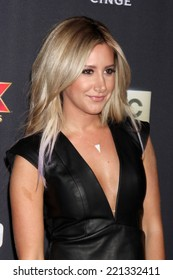 """LOS ANGELES - OCT 2:  Ashley Tisdale at the """"The Walking Dead"""" Season 5 Premiere at Universal City Walk on October 2, 2014 in Los Angeles, CA"""