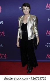 """LOS ANGELES - OCT 2:  Laura Roman at the """"M.F.A."""" Premiere at the The London West Hollywood on October 2, 2017 in West Hollywood, CA"""