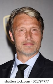 """LOS ANGELES - OCT 20:  Mads Mikkelsen arrives to the """"Doctor Strange"""" World Premiere  on August 28, 2016 in Los Angeles, CA"""