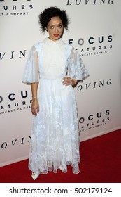 """LOS ANGELES - OCT 20:  Ruth Negga at the """"Loving"""" Premiere at Samuel Goldwyn Theater on October 20, 2016 in Beverly Hills, CA"""