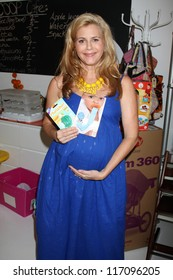 "LOS ANGELES - OCT 21:  Christie Lynn Smith at the baby shower supporting ""Celebrate the Military Child""for Christie Lynn Smith at The Coop on October 21, 2012 in Studio CIty, CA"