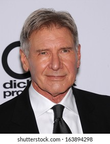 LOS ANGELES - OCT 21:  Harrison Ford arrives to Hollywood Film Awards Gala 2013  on October 21, 2013 in Beverly Hills, CA