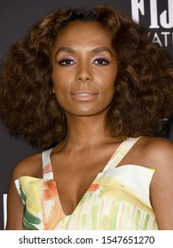 Los Angeles- OCT 21:  Janet Mock arrives for 5th Annual InStyle Awards on October 21, 2019 in Los Angeles, CA