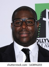 LOS ANGELES - OCT 21:  Steve McQueen arrives to Hollywood Film Awards Gala 2013  on October 21, 2013 in Beverly Hills, CA