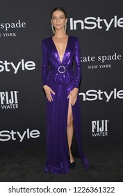 LOS ANGELES - OCT 22:  Angela Sarafyan arrives to the 'InStyle Awards' 2018  on October 22, 2018 in Hollywood, CA