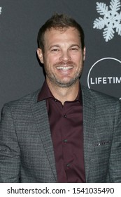 "LOS ANGELES - OCT 22:  George Stults at the ""It's A Wonderful Lifetime"" Holiday Party at the STK Los Angeles on October 22, 2019 in Westwood, CA"