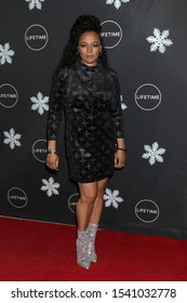 "LOS ANGELES - OCT 22:  Kim FIelds at the ""It's A Wonderful Lifetime"" Holiday Party at the STK Los Angeles on October 22, 2019 in Westwood, CA"