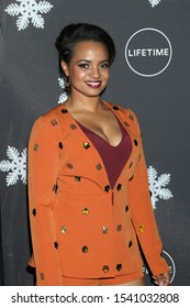 "LOS ANGELES - OCT 22:  Kyla Pratt at the ""It's A Wonderful Lifetime"" Holiday Party at the STK Los Angeles on October 22, 2019 in Westwood, CA"