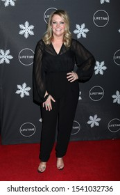 "LOS ANGELES - OCT 22:  Melissa Joan Hart at the ""It's A Wonderful Lifetime"" Holiday Party at the STK Los Angeles on October 22, 2019 in Westwood, CA"