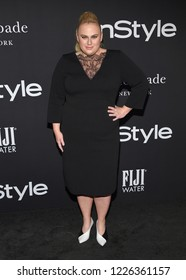 LOS ANGELES - OCT 22:  Rebel Wilson arrives to the 'InStyle Awards' 2018  on October 22, 2018 in Hollywood, CA