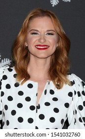 "LOS ANGELES - OCT 22:  Sarah Drew at the ""It's A Wonderful Lifetime"" Holiday Party at the STK Los Angeles on October 22, 2019 in Westwood, CA"