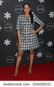 "LOS ANGELES - OCT 22:  Tia Mowry-Hardrict at the ""It's A Wonderful Lifetime"" Holiday Party at the STK Los Angeles on October 22, 2019 in Westwood, CA"