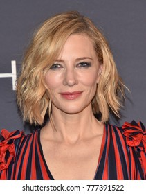 LOS ANGELES - OCT 23:  Cate Blanchett arrives for the InStyle Awards on October 23, 2017 in Los Angeles, CA