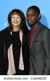 """LOS ANGELES - OCT 23:  Frances Fisher, Aml Ameen arrives at the """"Flight"""" Premiere at ArcLight Cinemas on October 23, 2012 in Los Angeles, CA"""