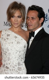LOS ANGELES - OCT 23:  Jennifer Lopez, Marc Anthony arrives at the 2010 Carousel of Hope Ball at Beverly HIlton Hotel on October 23, 2010 in Beverly Hills, CA