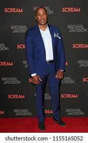 LOS ANGELES - OCT 24: Ali Shaheed Muhammad - The Estate of Michael Jackson + Sony Music present Michael Jackson Scream Halloween Takeover at TCL Chinese Theatre IMAX on October 24, 2017 in Los Angeles