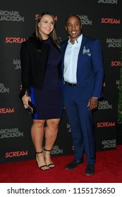 LOS ANGELES - OCT 24: Ali Shaheed Muhammad at Michael Jackson Scream Halloween Takeover at TCL Chinese Theatre IMAX on October 24, 2017 in Los Angeles, California