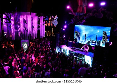 LOS ANGELES - OCT 24: DJ Steve Aoki at The Estate of Michael Jackson and Sony Music present Michael Jackson Scream Halloween Takeover at TCL Chinese Theatre IMAX on October 24, 2017 in Los Angeles, CA