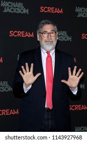 LOS ANGELES - OCT 24: John Landis at The Estate of Michael Jackson and Sony Music present Michael Jackson Scream Halloween Takeover at TCL Chinese Theatre IMAX on October 24, 2017 in Los Angeles, CA