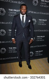 LOS ANGELES - OCT 26:  Curtis Jackson, 50 Cent at the Paley Center's Hollywood Tribute to African-Americans in TV at the Beverly Wilshire Hotel on October 26, 2015 in Beverly Hills, CA