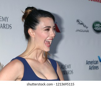 LOS ANGELES - OCT 26:  Madeline Zima at the 2018 British Academy Britannia Awards at the Beverly Hilton Hotel on October 26, 2018 in Beverly Hills, CA