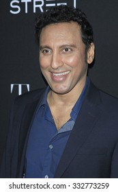 """LOS ANGELES - OCT 27:  Aasif Mandvi at the """"Trumbo"""" Premiere at the Samuel Goldwyn Theater on October 27, 2015 in Beverly Hills, CA"""