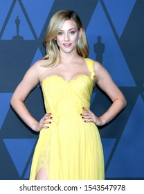 LOS ANGELES - OCT 27:  Lili Reinhart at the 11th Annual Governors Awards at the Dolby Theater on October 27, 2019 in Los Angeles, CA