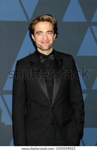 LOS ANGELES - OCT 27:  Robert Pattinson at the 11th Annual Governors Awards at the Dolby Theater on October 27, 2019 in Los Angeles, CA