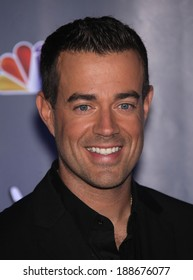 """LOS ANGELES - OCT 28:  CARSON DALY arrives to the """"Yhe Voice"""" Season 2 Press Conference  on October 28, 2011 in Sony Studios, CA"""
